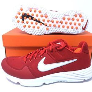 Nike Huarache Elite 2 Turf Red/White Baseball Shoe
